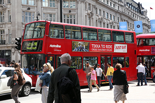 get your name on metrolines london buses