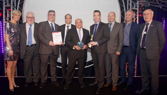 Metroline Awarded Bus Operator of the Year 2016