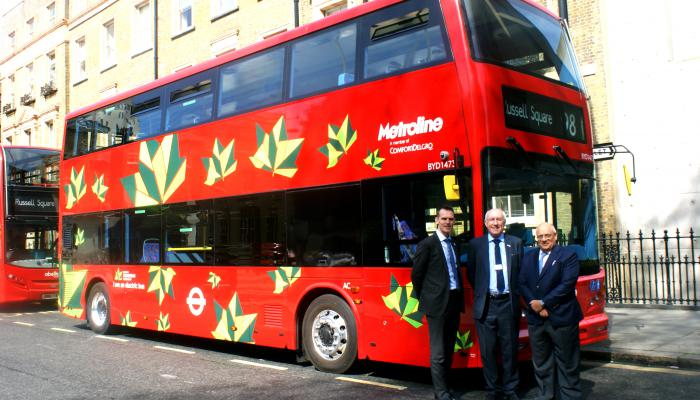 World's First Zero Emission Electric Double Decker