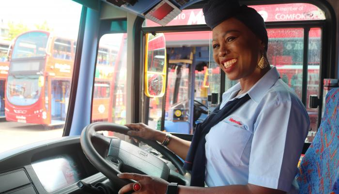 Driver Ayisha saves a life on her Route 190 bus
