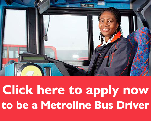 Click to apply to be a Metroline Bus Driver