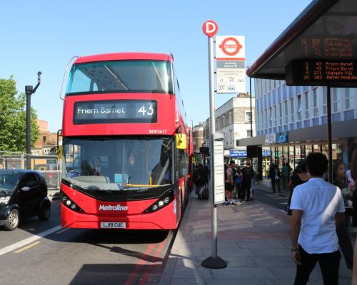 Metroline Electric Route 43