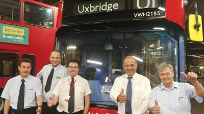 Congratulations Uxbridge Garage, shortlisted finalist for the TfL Award, London Garage of the Year, UK Bus Awards 2016.
