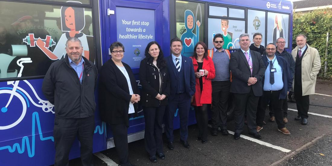 Wellbeing Bus To Help Improve Bus Driver Health Launched